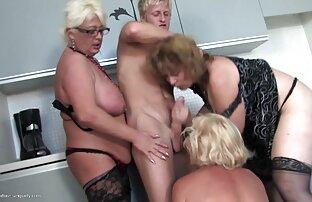 DP et film erotique amateur francais gangbang avec 4 jeunes garçons et une MILF blonde chaude